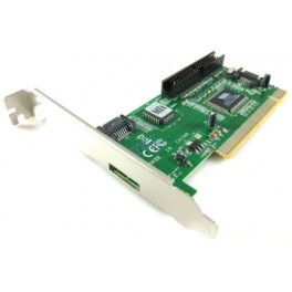 SCHEDA PCI 3 PORTE SATA E 1 IDE XBOX360 CHIPSET VT6421A